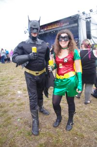 Batman and Robin Thatcher Gold