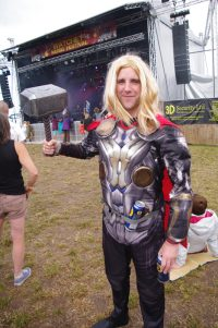 Fancy Dress Thor Watchet Festival