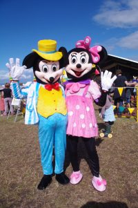 Mickey and Minny Mouse Watchet